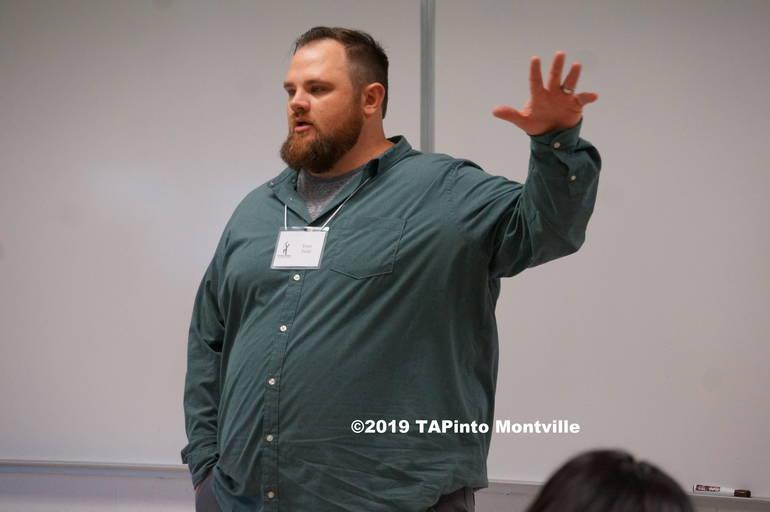 Evan Todd speaks at Lazar ©2019 TAPinto Montville   1.JPG