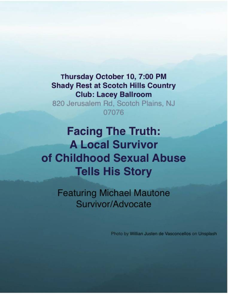 Event Announcement: Facing The Truth: A Local Survivor of