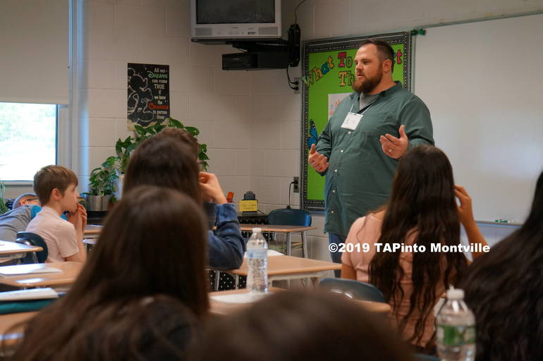 Evan Todd speaks at Lazar ©2019 TAPinto Montville   2.JPG