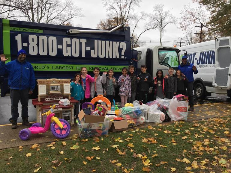 Evergreen School Gently Used Toy Collection Represents Milestone Donation to Second Chance Toys
