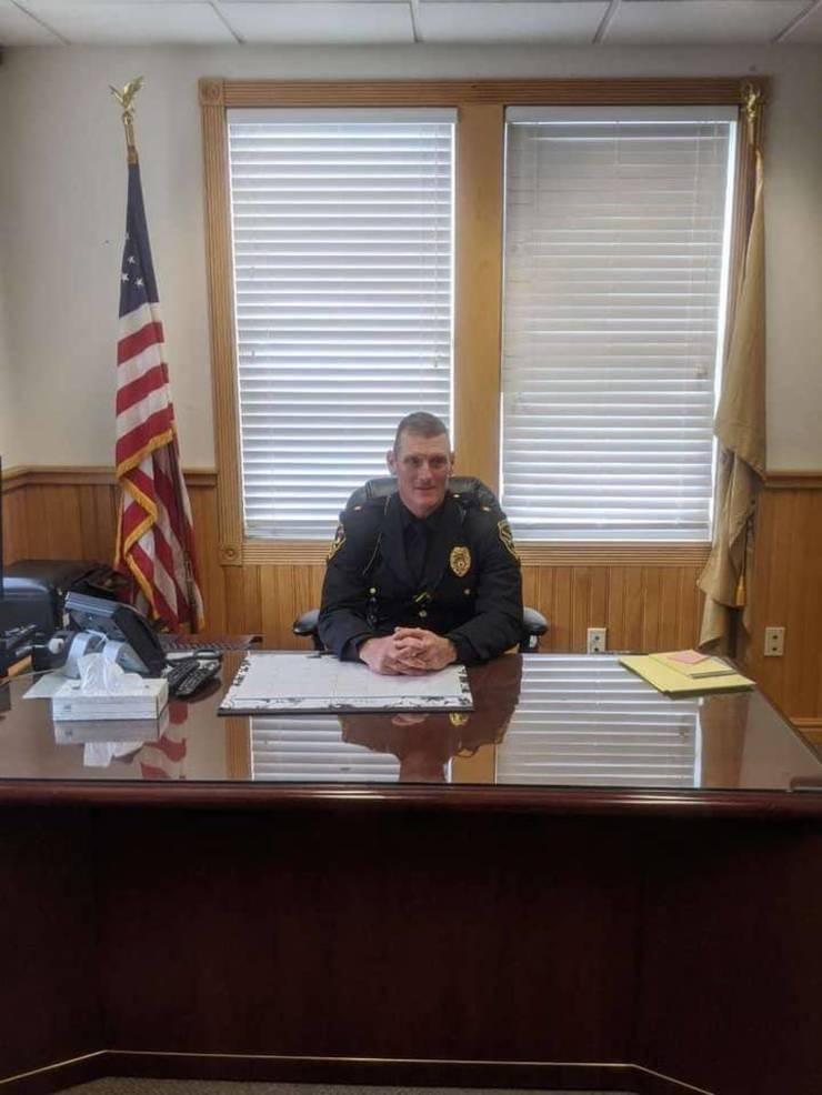 Kevin Mahon Sworn In as New Long Beach Township Police Chief