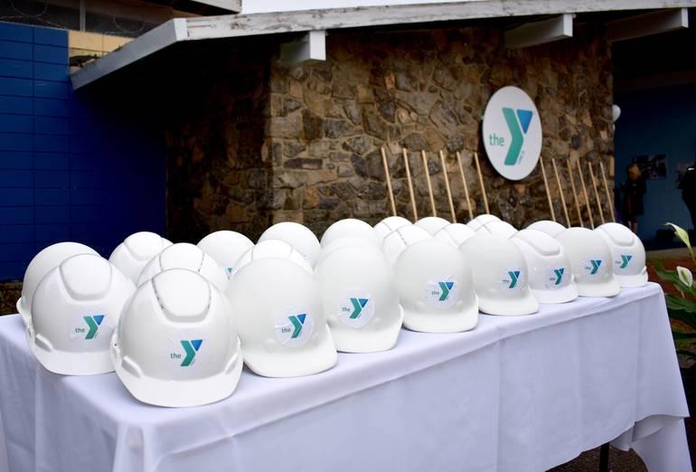 BH YMCA Groundbreaking Oct. 6, 2018.