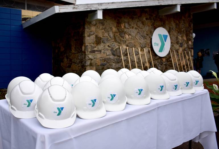 BH YMCA Groundbreaking Oct. 6, 2018.