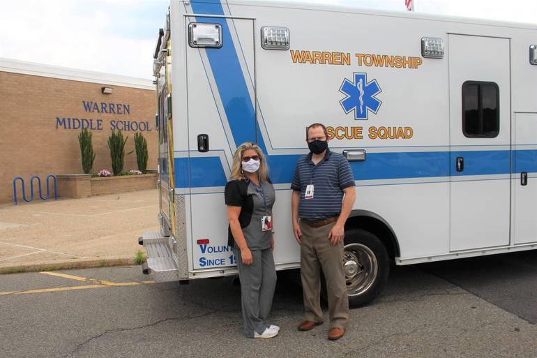 Warren Township Schools Hosts Vaccine Clinic, 77 Middle Schoolers Vaccinated