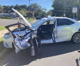 Fast Response by Holmdel Police Department Clears Accident Scene at Laurel and Middle Road