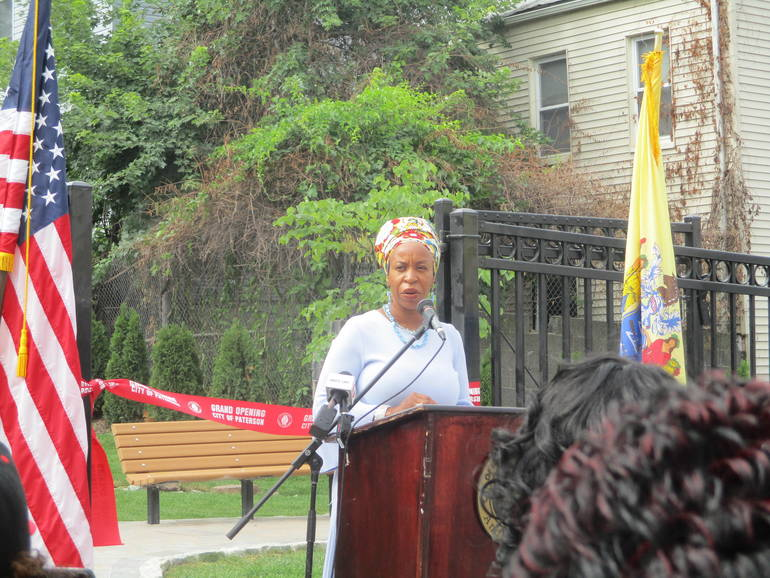 Paterson Cuts Ribbon on New Dr. Martin Luther King, Jr. Memorial Park