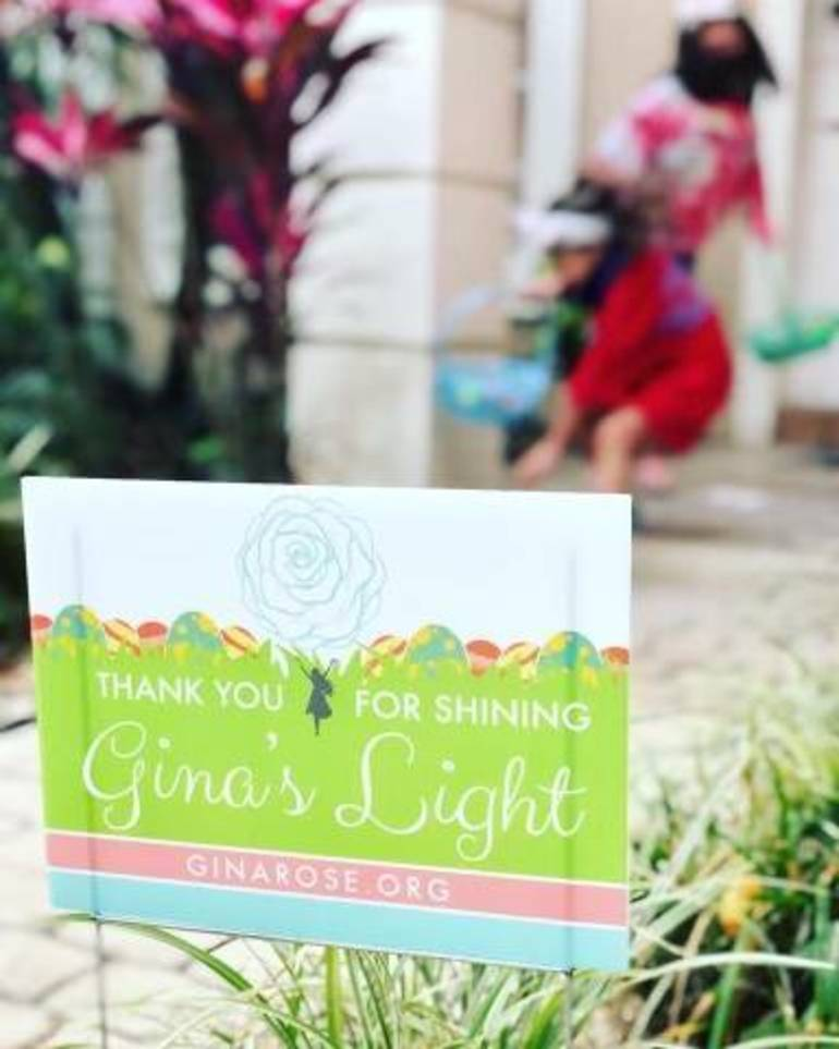Gina Montalto's Light Shone Bright During 'Egg My Lawn' Event