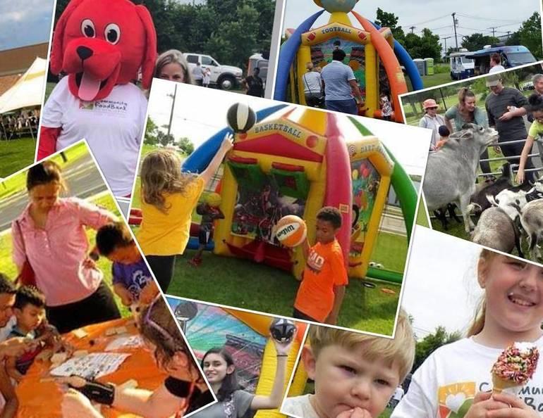 Family Fun Day 2018 collage