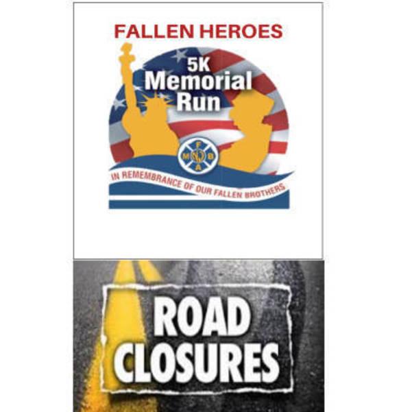 Lake Como Road Closure Alert: Fallen Heroes 5K Memorial Run