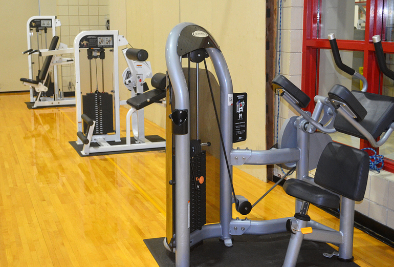Fanwood-Scotch Plains YMCA exercise equipment.