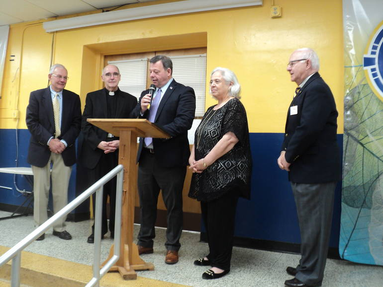 Father Pat Mayor and Council.JPG