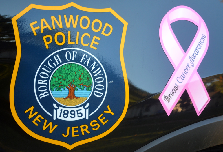 Fanwood police and pink ribbon.png