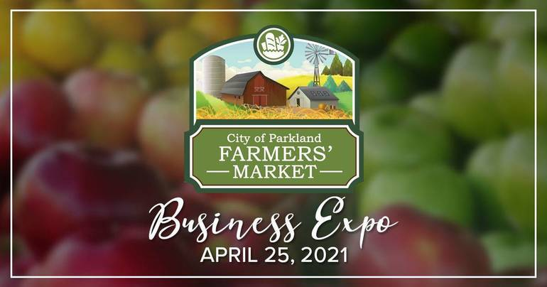 Parkland Celebrates Arbor Day, Local Businesses at Last Farmers Market of the Season
