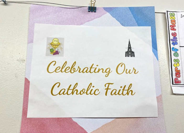 Holy Trinity Students Prepare for Lent