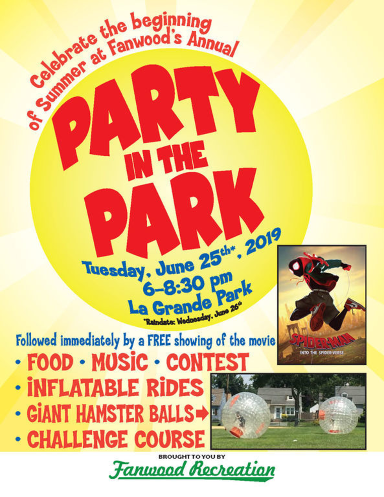 Fanwood Rec Party in the Park 2019 poster.png