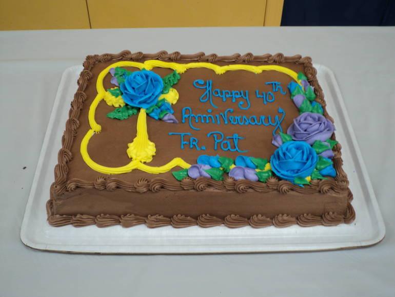 Father Pat chocolate cake.JPG