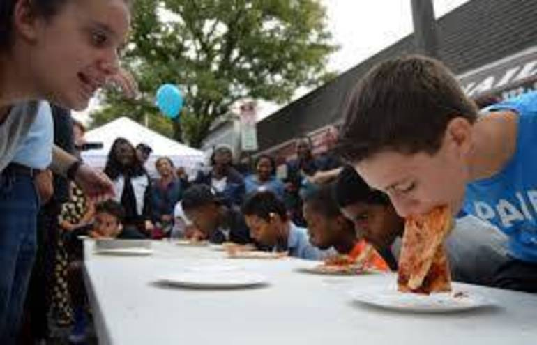 Fanny Wood Day pizza eating contest file photo.jpg