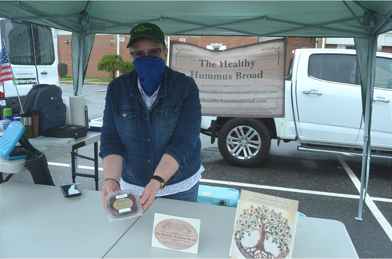 The Scotch Plains Farmers Market reopenedon Saturday, May 23, with social distancing rules in place.