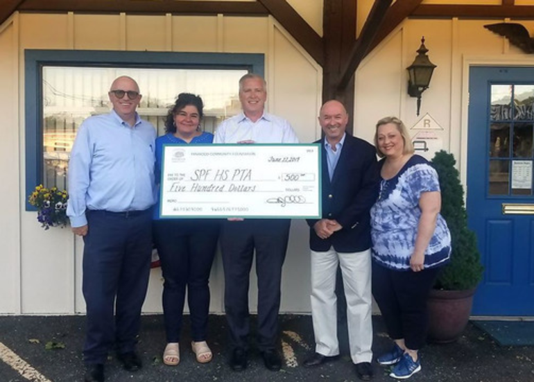 Fanwood Community Foundation - 2019 check for project graduation.png