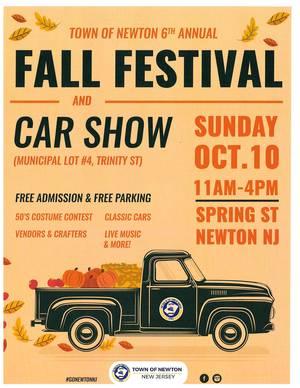 6th Annual Fall Festival and Car Show