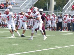 Fair Lawn senior quarterback Aidan Fojon