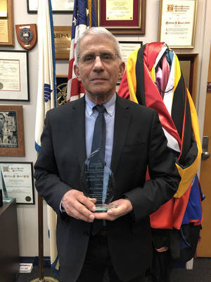 Rutgers Presents Moral Courage in Medicine Award to Anthony Fauci