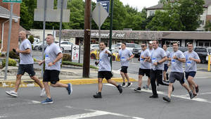 Fanwood and Scotch Plains police ran the Special Olympics Torch Run on Friday, June 11.
