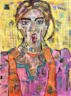"""""""Face Time"""": Barbara Shelly Exhibition Opens May 4 in Main Street Pops' Gallery at Pilsener Haus"""