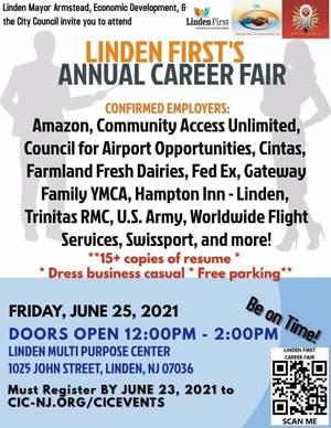 Linden to Host Annual Career Fair, June 25