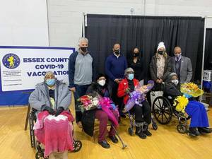 100 Years Old and Vaccinated, East Orange Seniors Pave the Way
