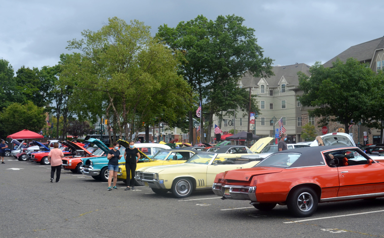 Fanwood car show and canned food drive.