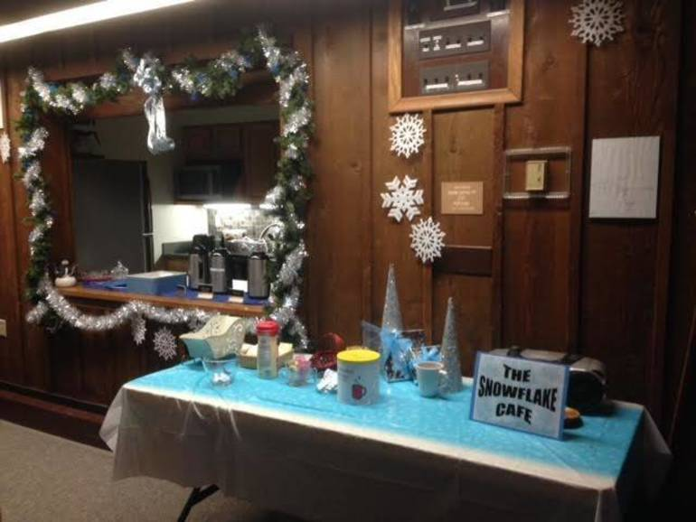 Snowflake Cafe at Festival of Trees at EEC
