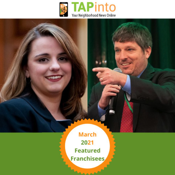 TAPinto Featured Franchisees: Elizabeth Meyers and Steve Lenox from TAPinto Hamilton/Robbinsville