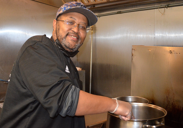 Felton Jones of Savory Selections in Scotch Plains is a semi-finalist in the Favorite Chef online competition.