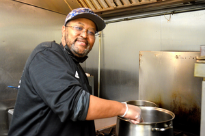 """Scotch Plains-Fanwood's own Felton Jones is in the running to be the """"Favorite Chef."""""""