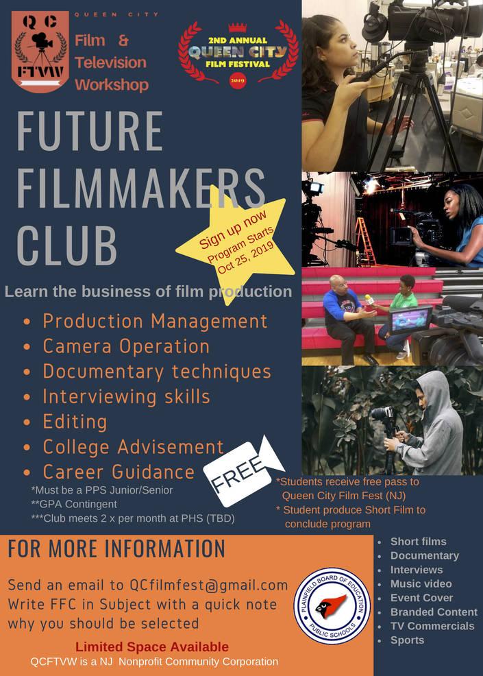 Future Filmmakers Club of Plainfield