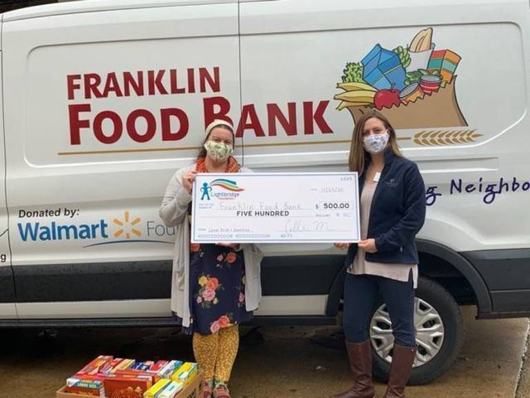 Franklin Food Bank Fueled by Community Support