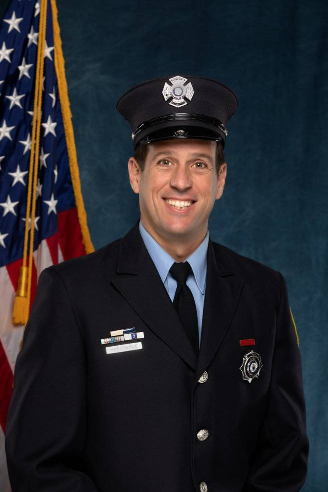 Robbinsville Firefighter Haermmerle Retiring After 20 Years Protecting the Community
