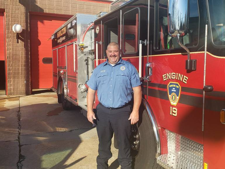 Hamilton Fire Captain Taylor Retiring After 28 Years of Service