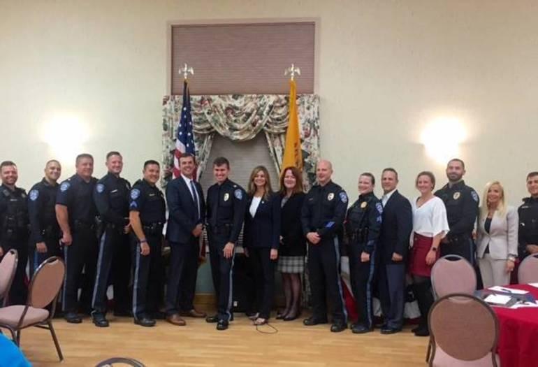 Bernards police department thanked