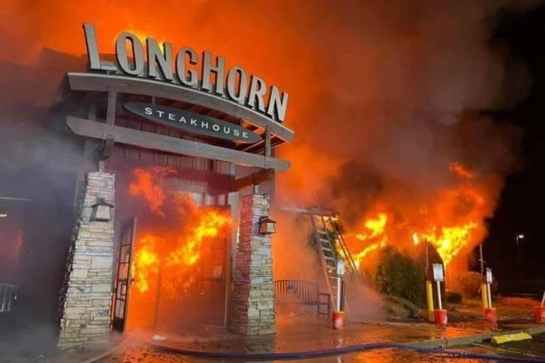 fire mount olive, fire budd lake, longhorn steakhouse fire