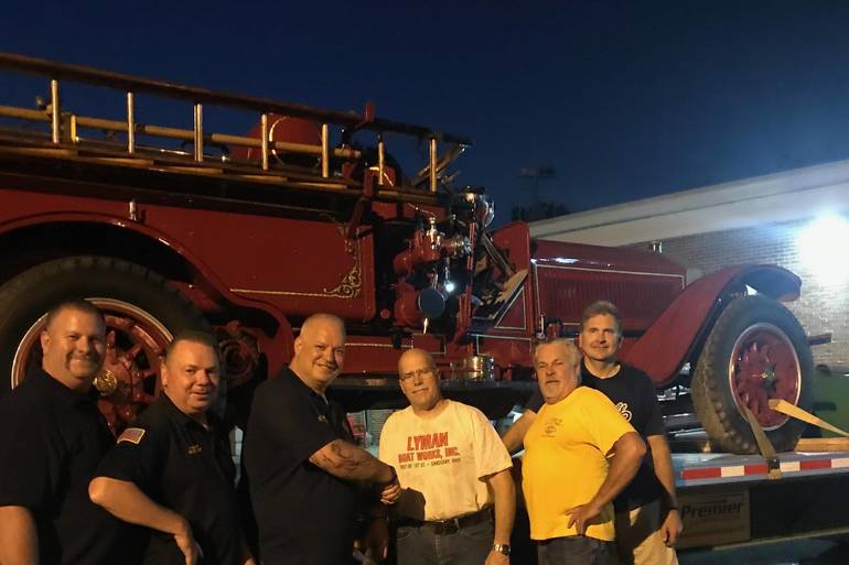 Clark Engine 12 Goes Home