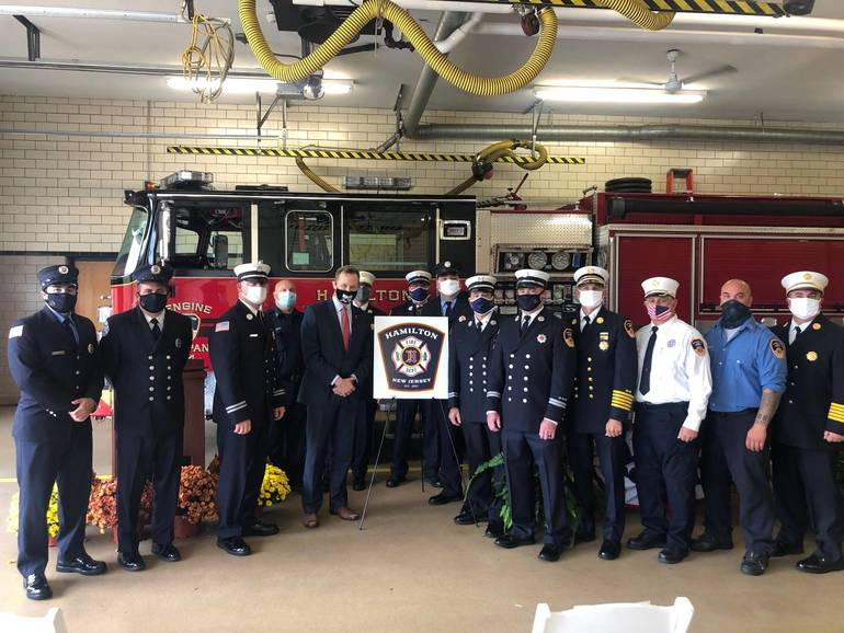 New Year Rings the Bell for the New Hamilton Township Fire Department