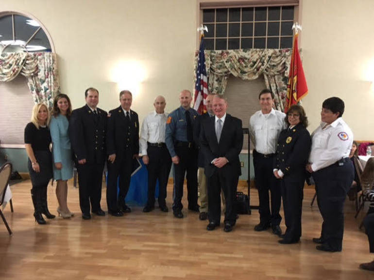 First responders honored