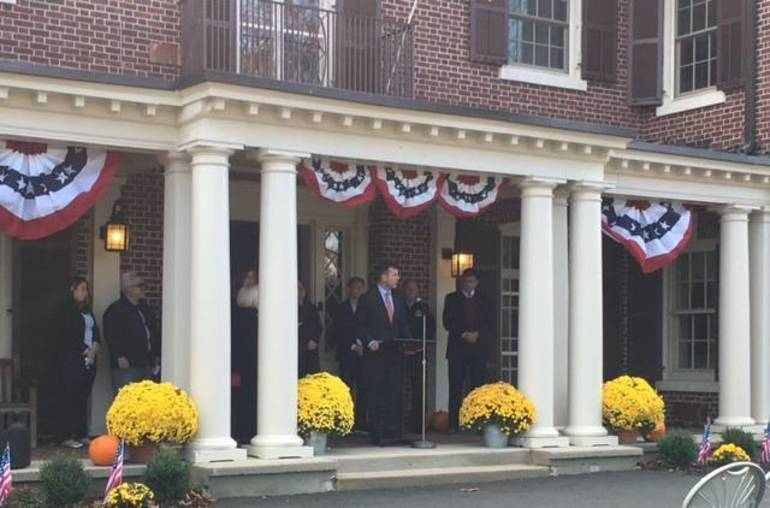 Officials speak at Field of Honor dedication