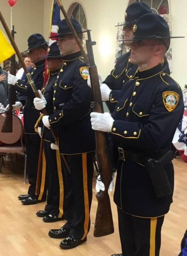 Sheriff's department Honor Guard