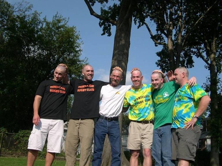First Baldricks with bros.jpg