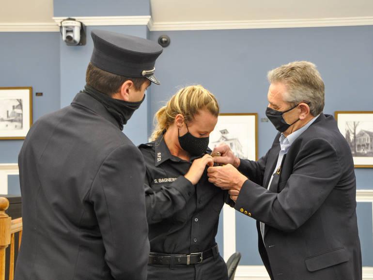 Cranford Recap: Firefighter Makes History, Rails to Trails, Sensory Communication Kits, & More