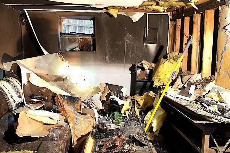 Summit Fire Department Quickly Extinguishes Huntley Road Basement Blaze