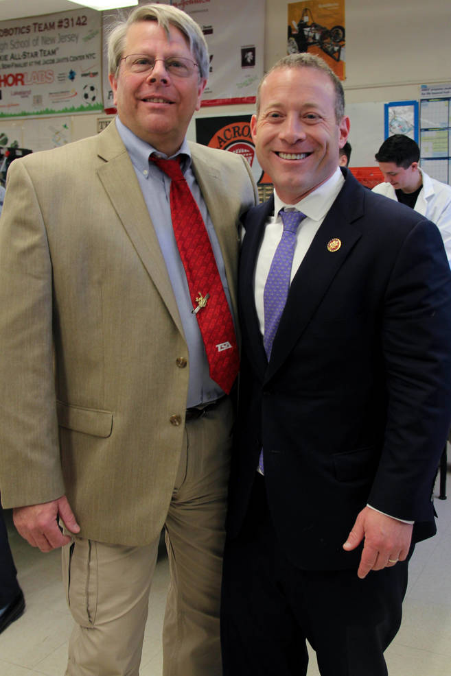 James Hoffman and Josh Gottheimer